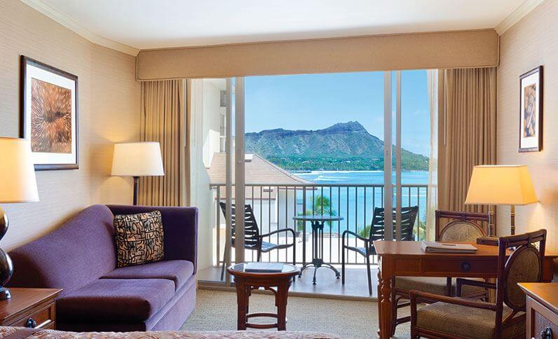 Outrigger Reef Waikiki Beach original room