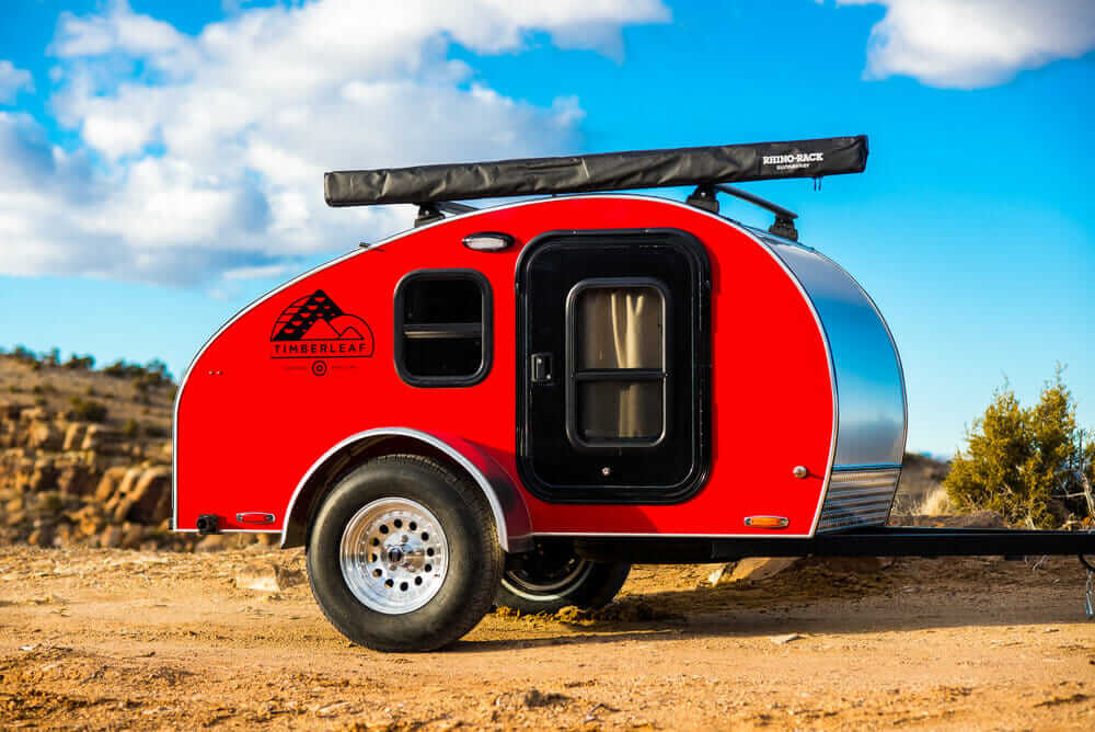 small one person travel trailer