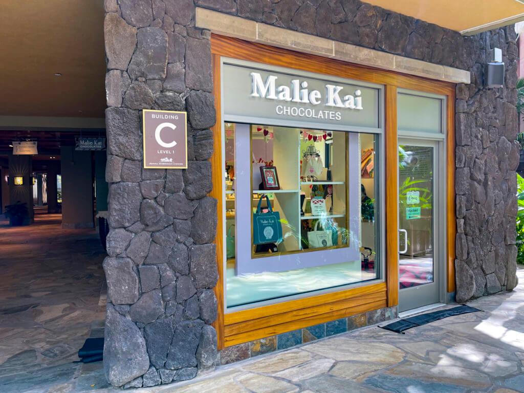 Royal Hawaiian Center Finds - Malie Kai Chocolates
