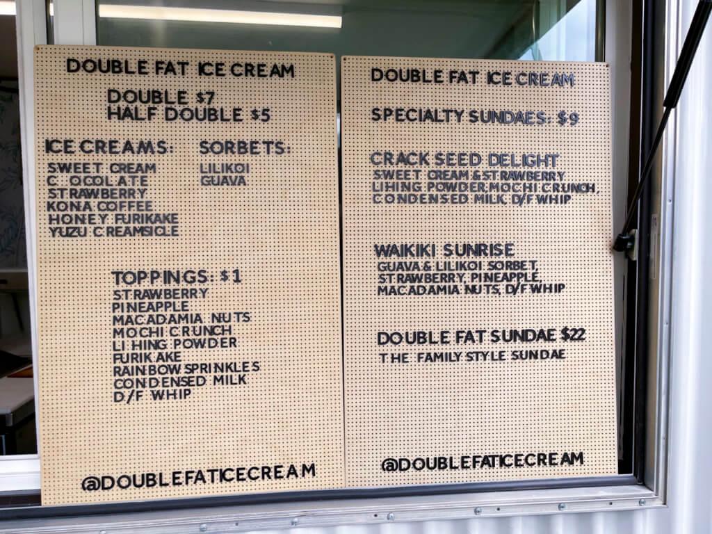 The Tastiest Secret Spot in Waikiki - Double Fat Ice Cream