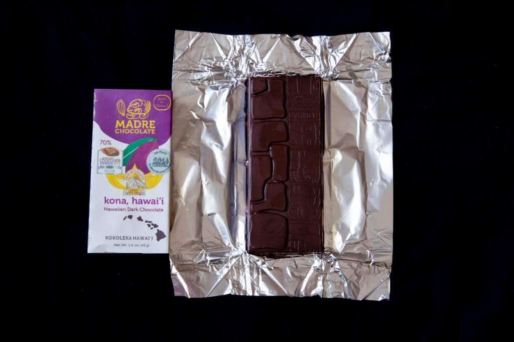 Discover Hawaiian Chocolates - Madre Chocolate Kona Bar