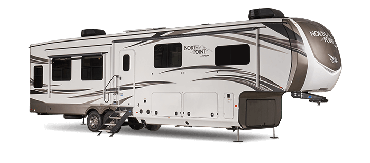 jayco north point with 2 bathrooms
