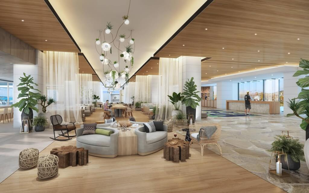 Turtle Bay Resort to Reopen July 1 - New Lobby