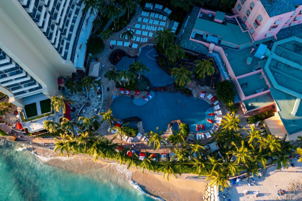 Sheraton Waikiki family pool