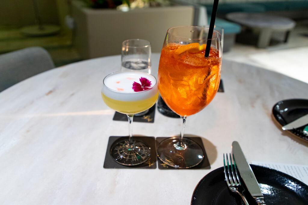 Quiora Waikiki Dinner drinks