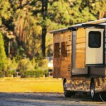 rv with slide out and stabilizer