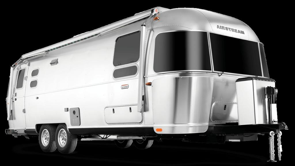 airstream aluminum travel trailer
