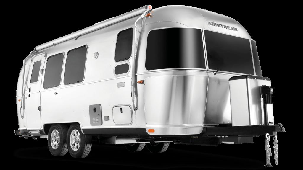 aluminum flying cloud travel trailer.