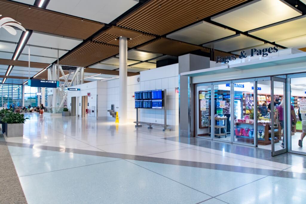 The New Honolulu Airport Mauka Concourse concession